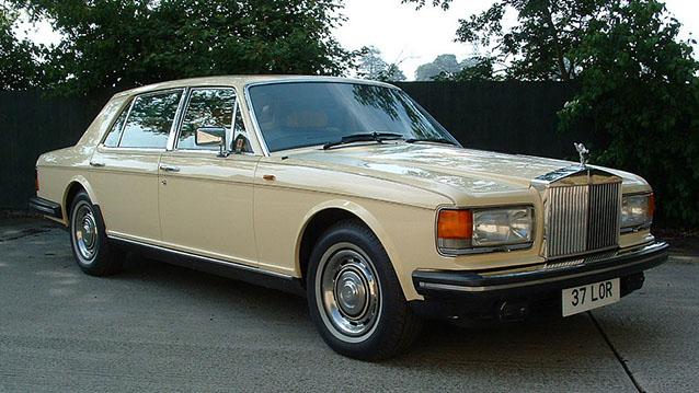 Rolls-Royce Silver Spur wedding car for hire in Hatfield, Hertfordshire