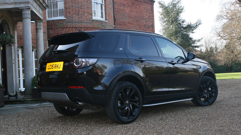 Land Rover Discovery Sport HSE wedding car for hire in Cobham, Surrey