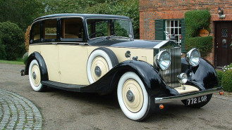 Rolls-Royce 20/25 wedding car for hire in Hatfield, Hertfordshire