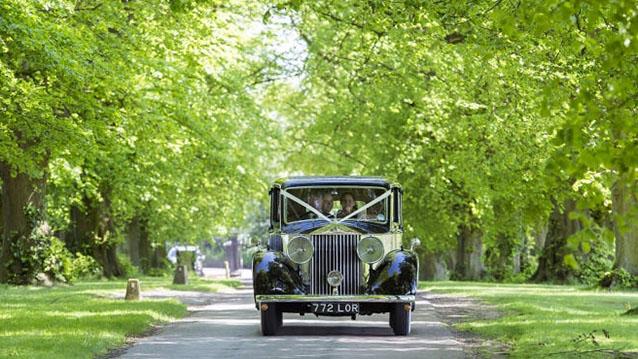 Rolls-Royce 20/25 wedding car for hire in Hatfield, Hertfordshire