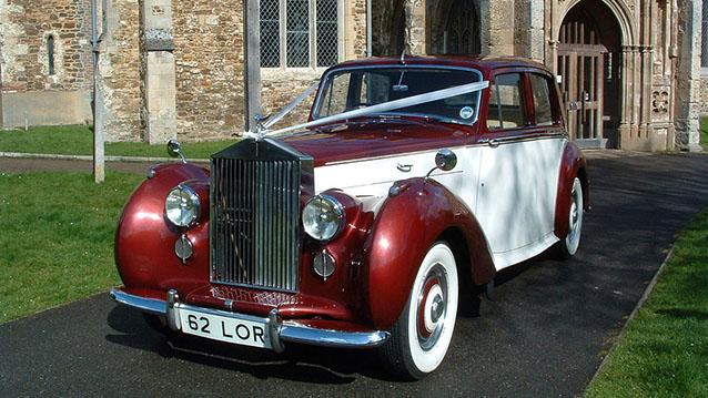 Rolls-Royce Silver Dawn wedding car for hire in Hatfield, Hertfordshire