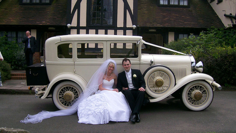 Willys Knight wedding car for hire in Uxbridge, Middlesex