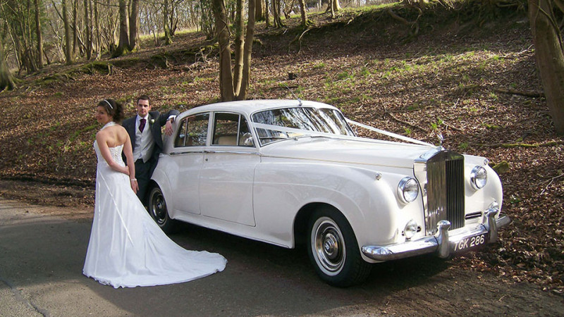 Rolls-Royce Silver Cloud I wedding car for hire in Uxbridge, Middlesex