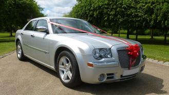 Chrysler 300c wedding car for hire in Winslow, Buckinghamshire