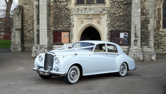 Bentley S II wedding car for hire in Hatfield, Hertfordshire