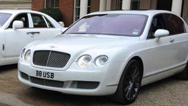 Bentley Flying Spur wedding car for hire in Ware, Hertfordshire