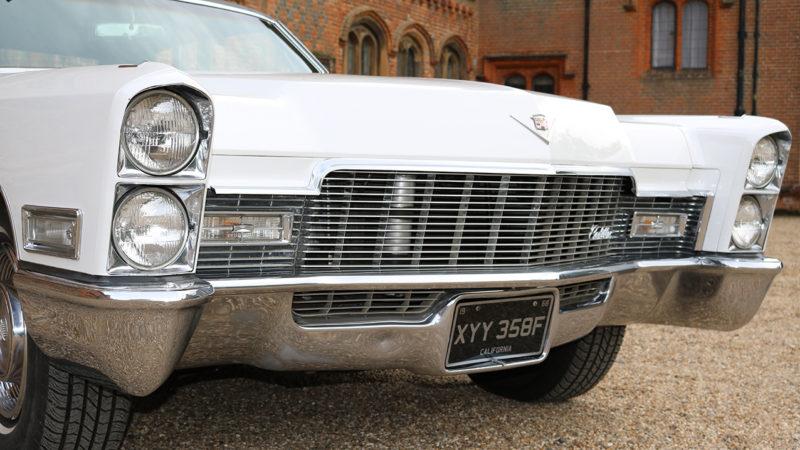 Cadillac Sedan De Ville wedding car for hire in Colchester, Essex