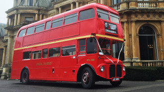 Routemaster London Bus wedding car for hire in High Wycombe, Buckinghamshire