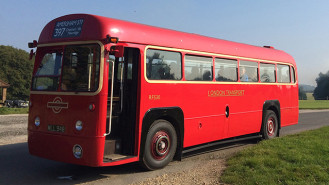 Regal IV AEC London Bus wedding car for hire in High Wycombe, Buckinghamshire