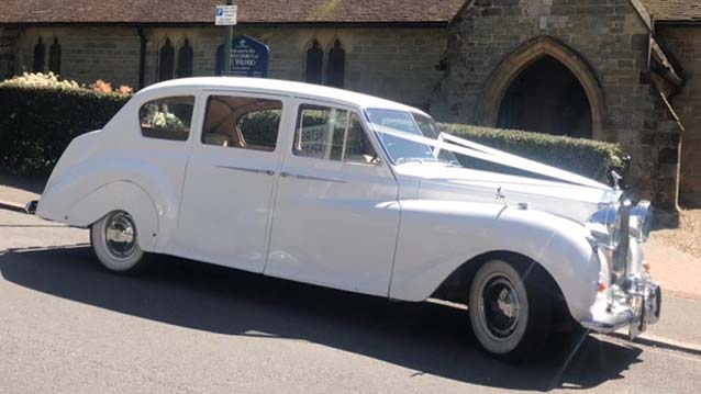 Austin Princess Limousine wedding car for hire in London