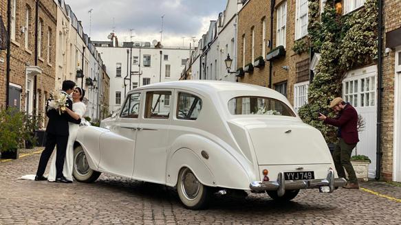 Austin Princess Limousine wedding car for hire in London