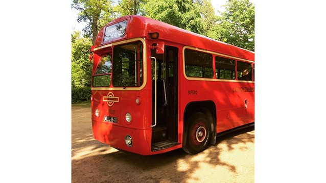 Regal IV AEC London Bus wedding car for hire in High Wycombe, Buckinghamshire