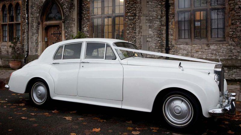 Rolls-Royce Silver Cloud I wedding car for hire in London