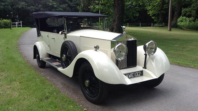 Rolls-Royce Grand Tourer wedding car for hire in Bournemouth, Dorset