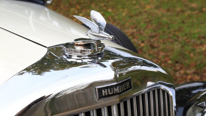 Humber 16/60 Saloon wedding car for hire in Cobham, West London