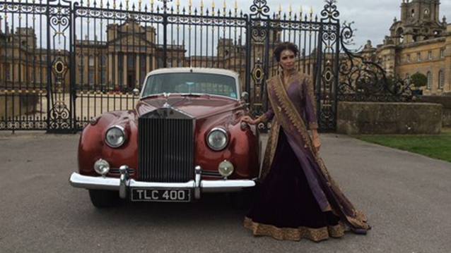 Rolls-Royce Silver Cloud I wedding car for hire in Witney, Oxfordshire