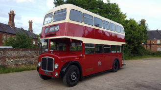 AEC Regent V Bus wedding car for hire in Newbury, Berkshire