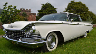 Buick LeSabre wedding car for hire in Wellington, Somerset