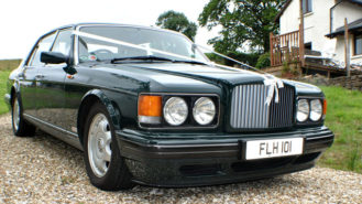 Bentley RL Turbo 'MPW' wedding car for hire in Meshaw, Devon