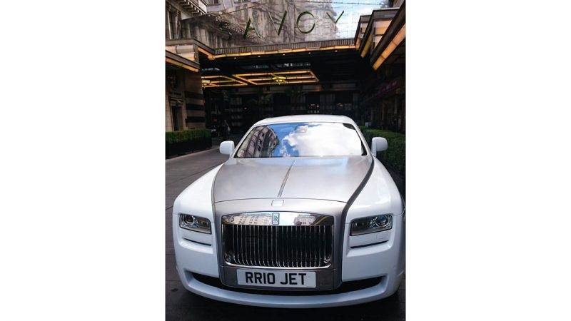 Rolls-Royce Ghost wedding car for hire in Wembley, London