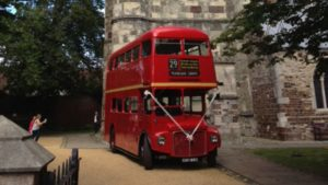 Classic London Routemaster bus