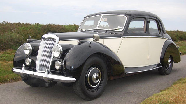 Riley RME wedding car for hire in Wellington, Somerset