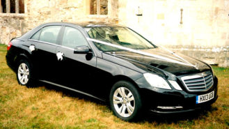 Mercedes 'E' Class wedding car for hire in Portsmouth, Hampshire