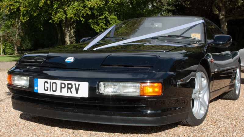 renault alpine turbo available for wedding hire in kent. Black Bedroom Furniture Sets. Home Design Ideas