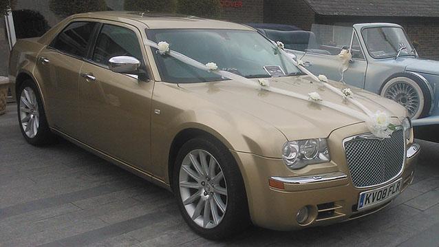 Modern Chrysler 300c Wedding Car Hire Deal, Kent