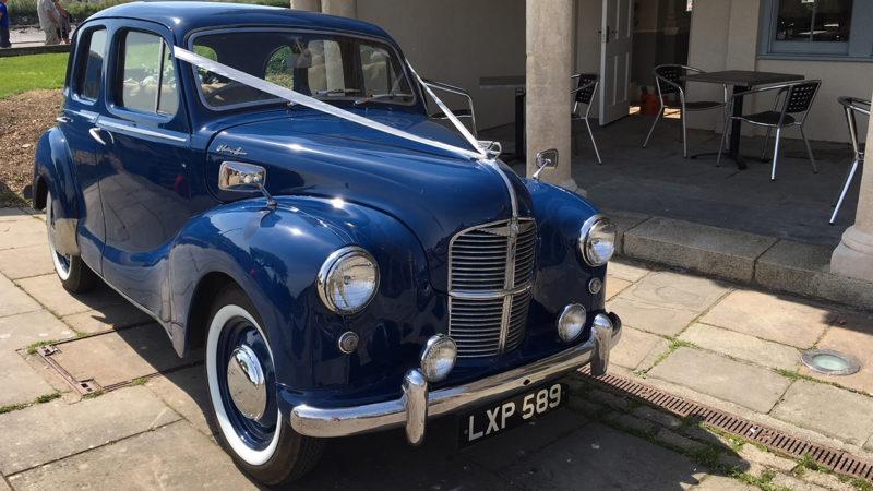 Austin A40 Devon wedding car for hire in Barnstaple, Devon