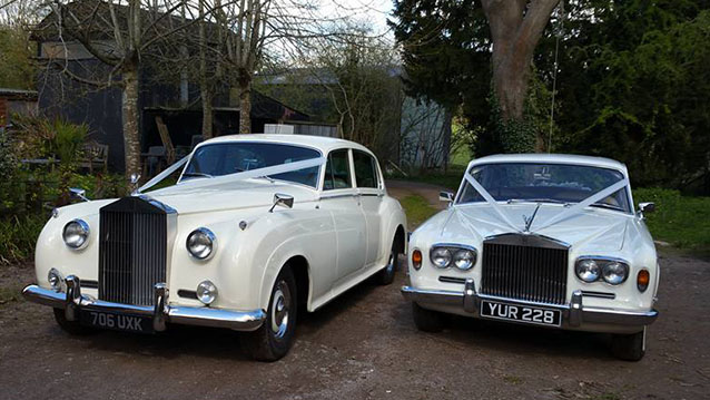 Rolls-Royce Silver Shadow I wedding car for hire in Hereford, Herefordshire