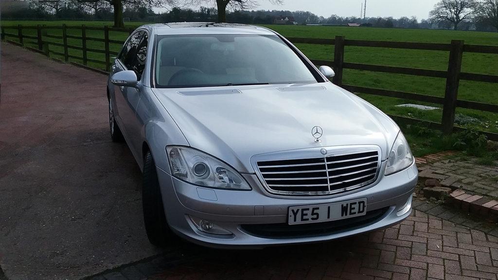 Modern Mercedes Wedding Car Hire Hertfordshire Premier Carriage