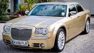 Chrysler 300c wedding car for hire in Deal, Kent