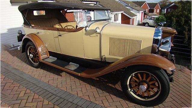 Buick Phaeton Tourer wedding car for hire in Plymouth, Devon