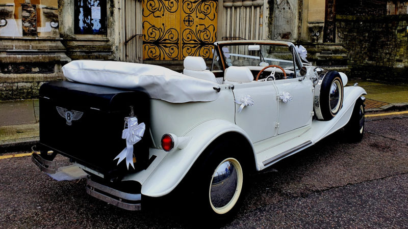 Beauford 4 Door Convertible wedding car for hire in London