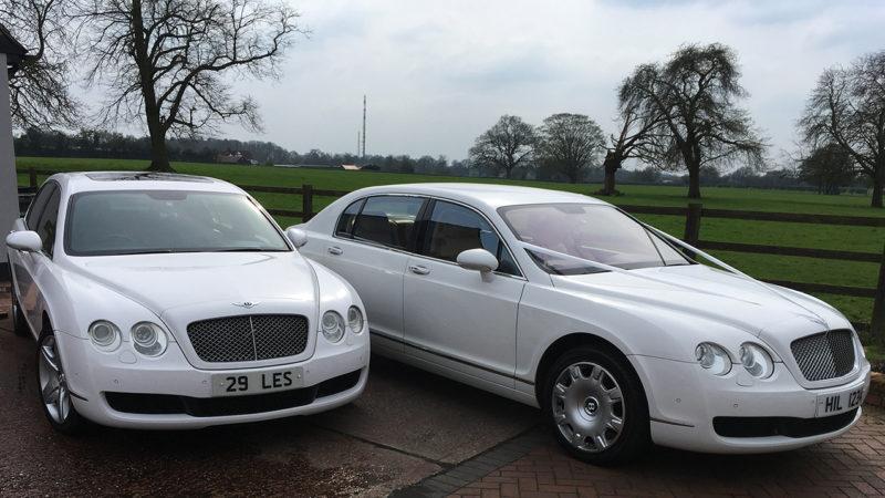 Bentley Continental Flying Spur wedding car for hire in Hemel Hempstead, Hertfordshire