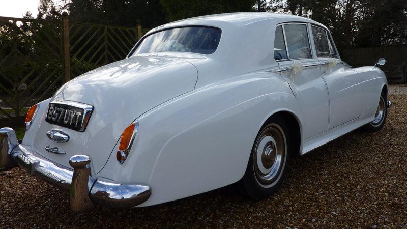 Rolls-Royce Silver Cloud I wedding car for hire in Wareham, Dorset