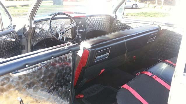 Cadillac De Ville wedding car for hire in Newport, South Wales