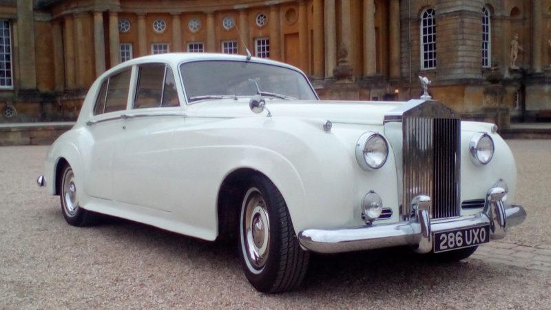 Rolls-Royce Silver Cloud II wedding car for hire in Newport, South Wales