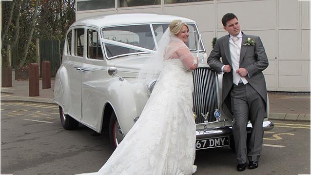 Austin Princess Limousine wedding car for hire in Aylesbury, Buckinghamshire