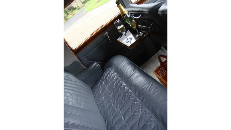 Rolls-Royce Silver Dawn wedding car for hire in Doncaster, South Yorkshire