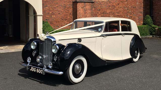 Classic Bentley Wedding Car Hire Doncaster South Yorkshire