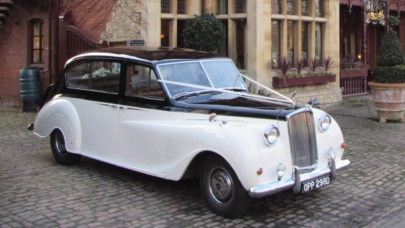 Austin Princess Limousine wedding car for hire in Aylesbury, Buckinghamshire