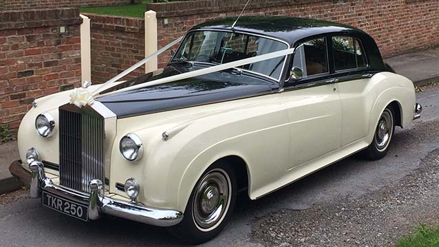 Rolls-Royce Silver Cloud II wedding car for hire in Doncaster, South Yorkshire