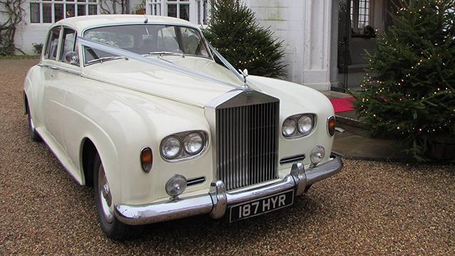 Rolls-Royce Silver Cloud III wedding car for hire in Aylesbury, Buckinghamshire