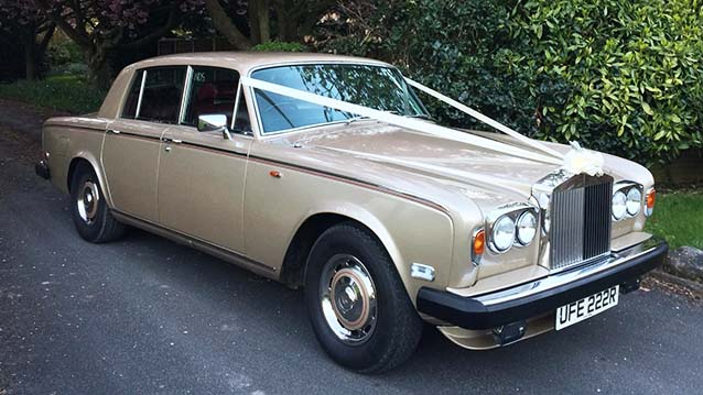 Rolls-Royce Silver Shadow II wedding car for hire in Doncaster, South Yorkshire