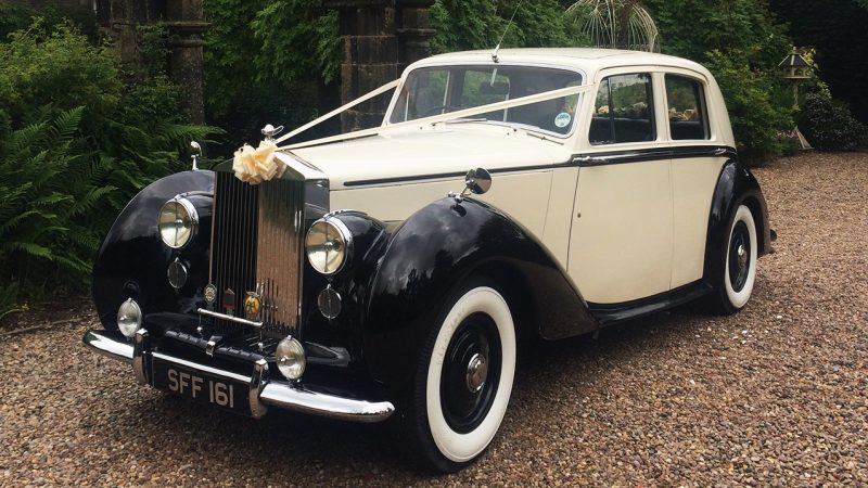 Classic Rolls Royce Wedding Cars Near Doncaster South