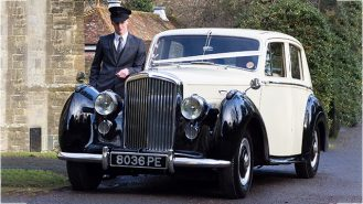 Bentley 'R' Type wedding car for hire in East Grinstead, West Sussex
