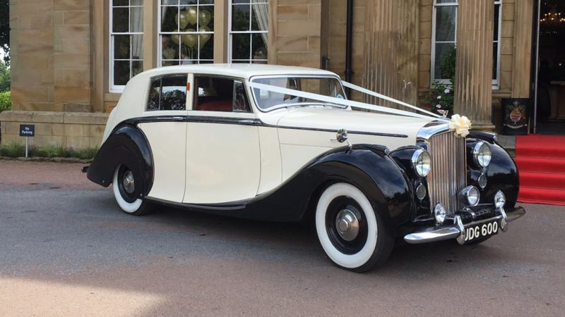 Bentley MK VI Hooper wedding car for hire in Doncaster, South Yorkshire