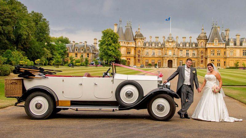Rolls-Royce Open Tourer wedding car for hire in Aylesbury, Buckinghamshire